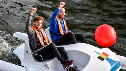 European Open gelanceerd met ludieke waterfietsrace, Bemelmans knokt zich naar duel tegen Kyrgios
