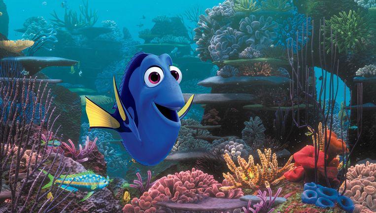 Komische sidekick Dory, een vergeetachtige blauwe vis, wordt gepromoveerd tot hoofdfiguur Beeld Disney / Pixar