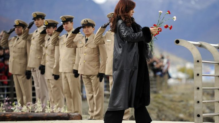 De Argentijnse presidente Cristina Fernandez de Kirchner