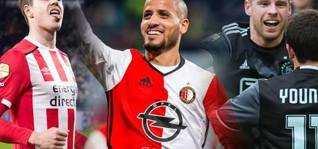 Kan Feyenoord eind april profiteren van PSV-Ajax?