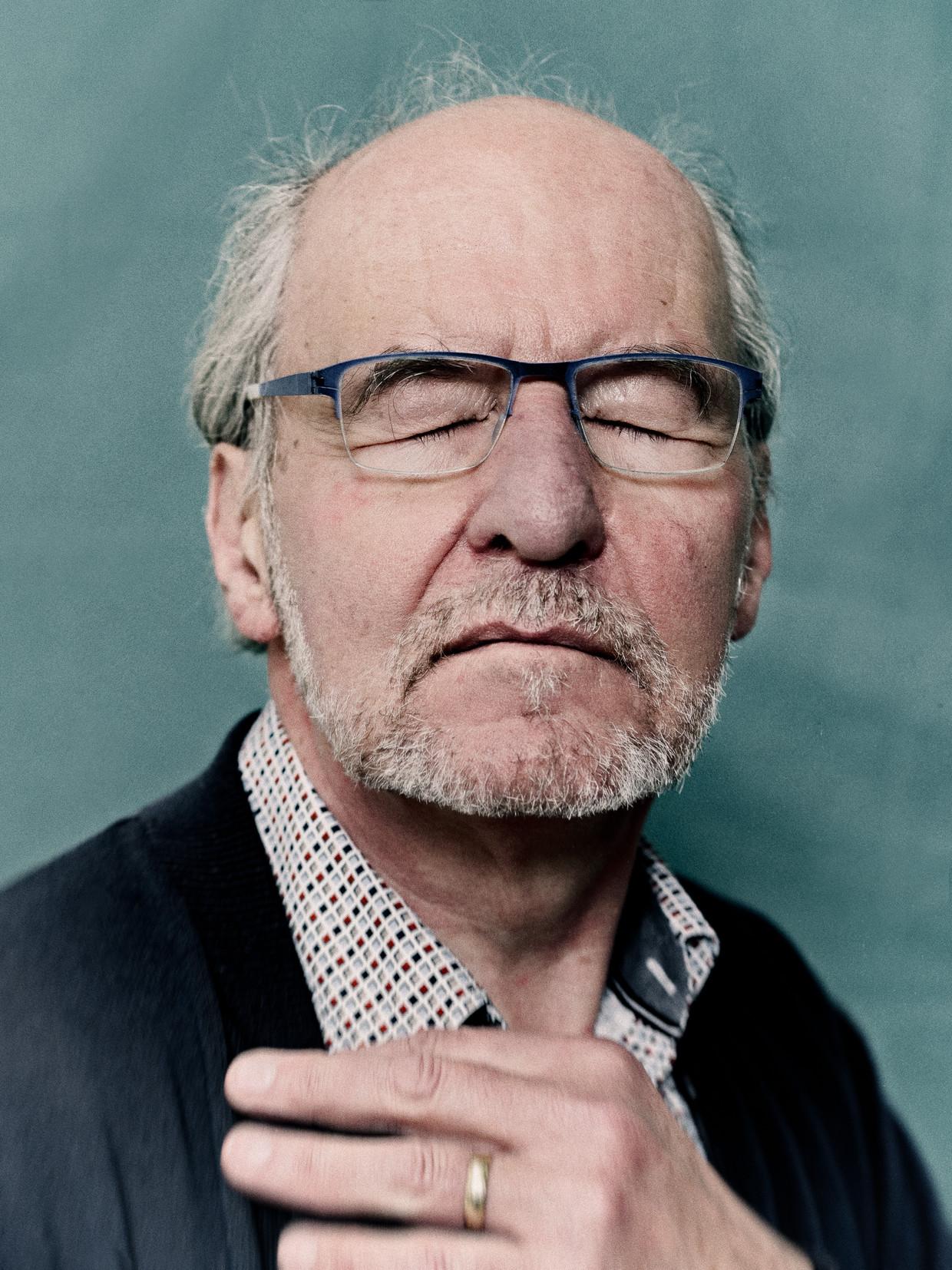 Willem Marcelis: 'Hindernissen maken een rivier tot wat hij is. Zonder hen zou hijniets zijn.' Beeld Jitske Schols