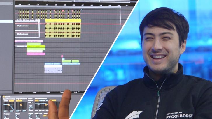 Kai Verbij is niet alleen schaatser, maar ook muziekproducer