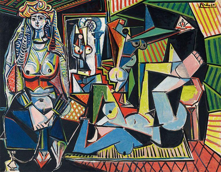 'Les Femmes d'Alger' werd geveild voor 161 miljoen euro.