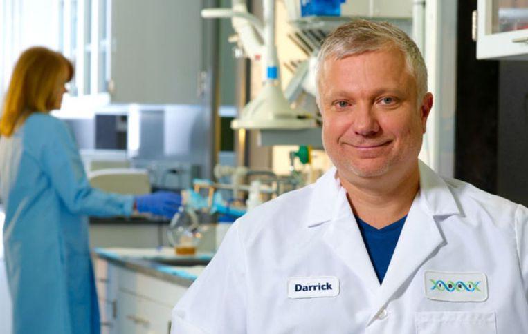 Darrick Carter van het Infectious Diseases Research Institute in Seattle. Beeld