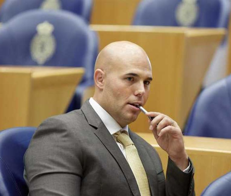 Voormalig PVV-Kamerlid Joram van Klaveren. Beeld null