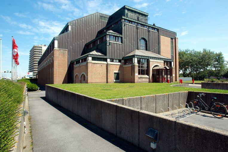 Archieffoto. Het voormalige schoolgebouw van Vives in Oostende.
