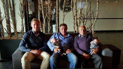 Overgrootvader Jozef trots op dubbel viergeslacht