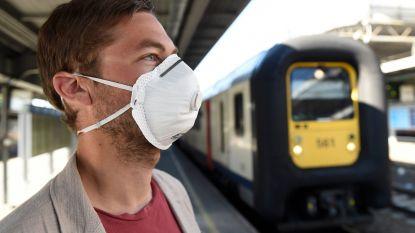 Niet alle reizigers dragen verplicht mondmasker