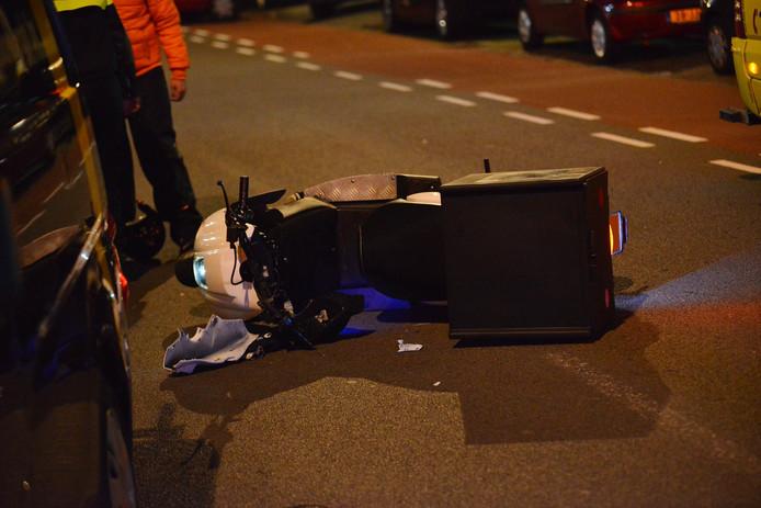 Scooterrijder gewond bij ongeluk in Breda