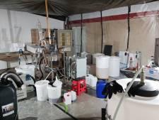 Crystal meth-lab ontdekt in Voorburgse woning, acht verdachten tussen de 30 en 78 jaar aangehouden