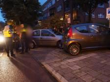 Aanrijding na verkeersruzie in Amersfoort