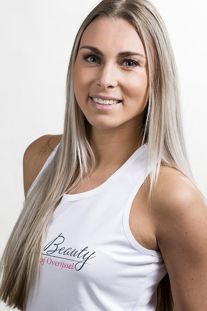 Selena Boerman wint de Overijsselse missverkiezing.