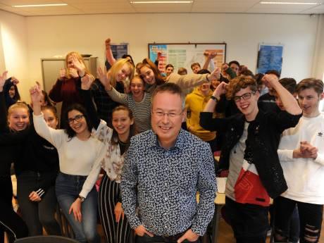 CSW-docent Arjen Baart is beste Zeeuwse leraar van 2019