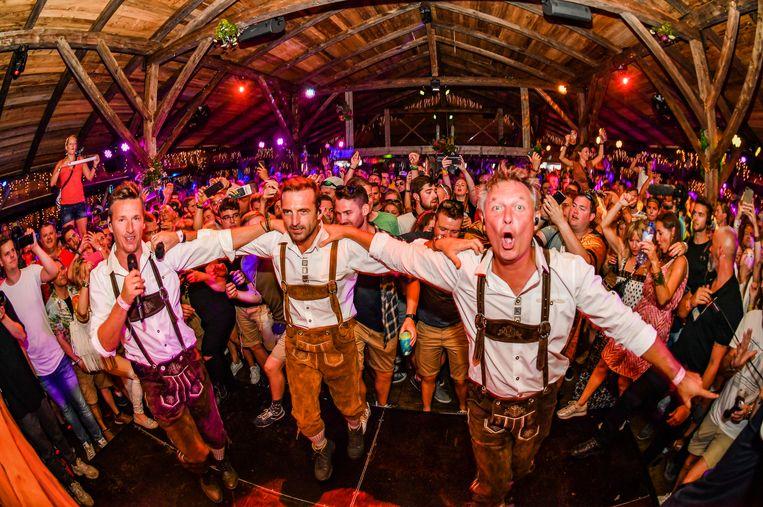 De Romeo's geven het beste van zichzelf in de MOOSE Bar op Tomorrowland