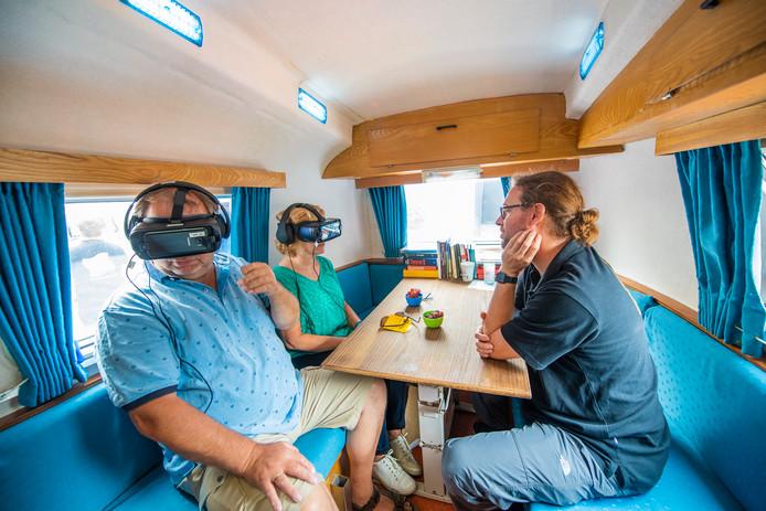 Met een VR-bril ervaren hoe het is om een psychose te hebben.