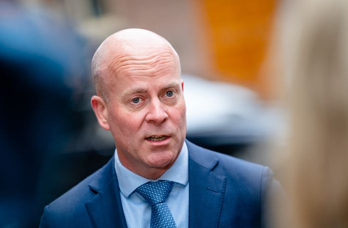 Staatssecretaris Raymond Knops van Binnenlandse Zaken en Koninkrijksrelaties.