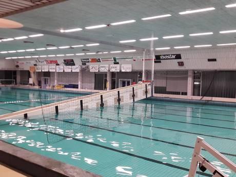Brug stort naar beneden in Sportfondsenbad Amersfoort