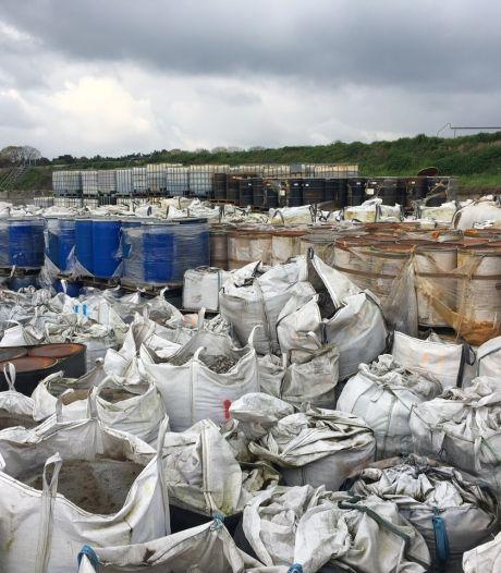 Bedrijf naar rechter voor illegale opslag afval in Sterksel