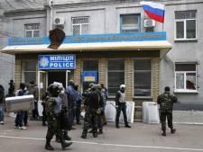 """Opération """"antiterroriste"""" à Slaviansk"""