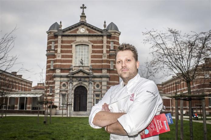 Nick Bril voor The Jane in Antwerpen.