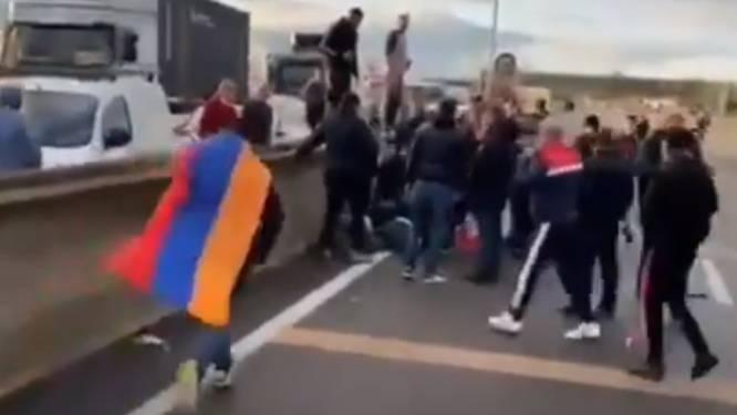 Zwaargewonde na vechtpartijen met Armeniërs op Franse snelweg
