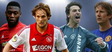 Deze zeven spelers waren actief bij Ajax én Manchester United