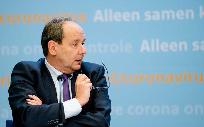 Staatssecretaris Hans Vijlbrief van Financien.