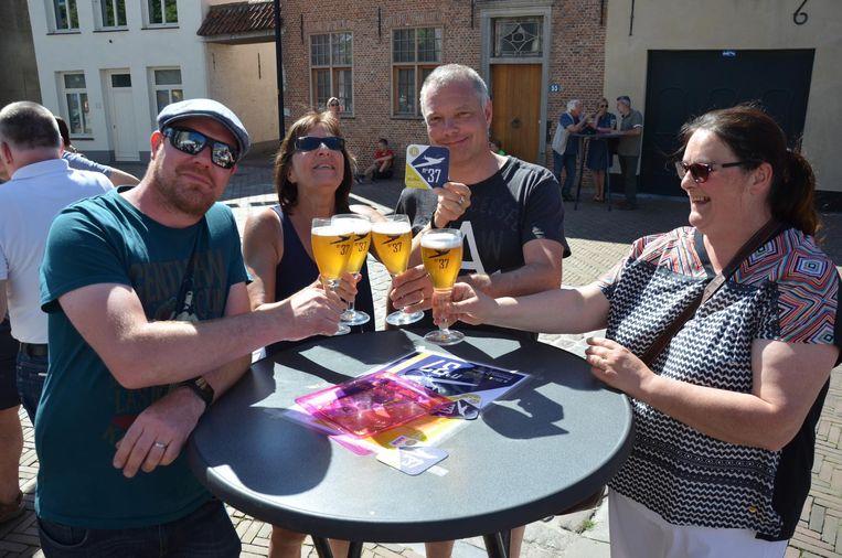 Het blonde biertje valt in de smaak bij de inwoners van Waasmunster.