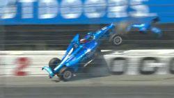 Stevige crash ontsiert manche van IndyCarkampioenschap in Pocono