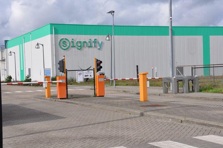 De fabriek van Signify, het vroegere Philips, in Turnhout.