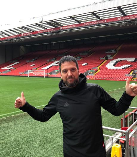 Drutense trainer krijgt kijkje in keuken bij Liverpool: 'Elk grassprietje wordt met dezelfde precisie behandeld'