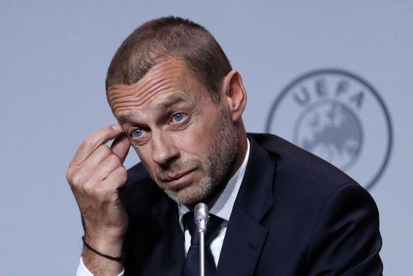 Aleksander Ceferin, de voorzitter van de UEFA.