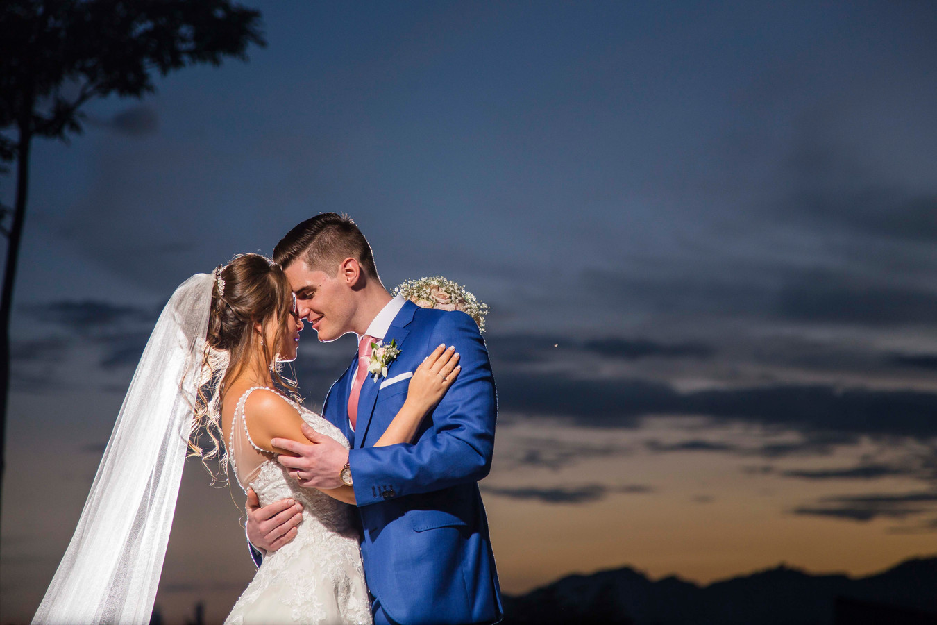 Jens en Antonella huwden op 1 juni in Colombia.