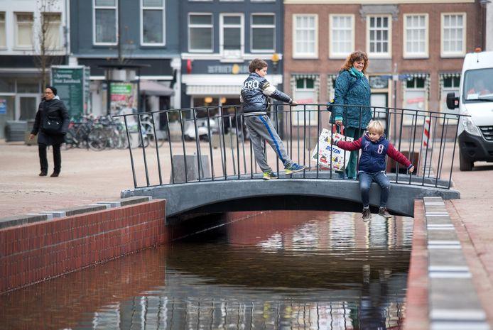 De Jansbeek in de Nieuwstraat in het Arnhemse centrum.