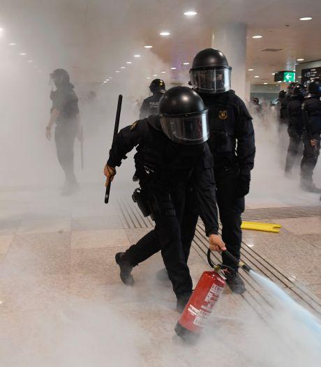 Tsunami van volkswoede op luchthaven Barcelona, vluchten geschrapt