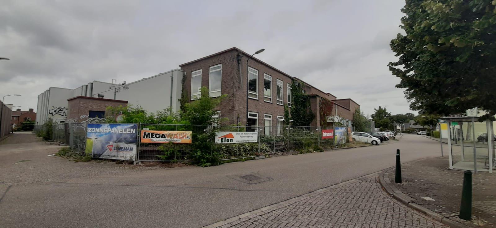 De voormalige zuivelfabriek in Varsseveld.