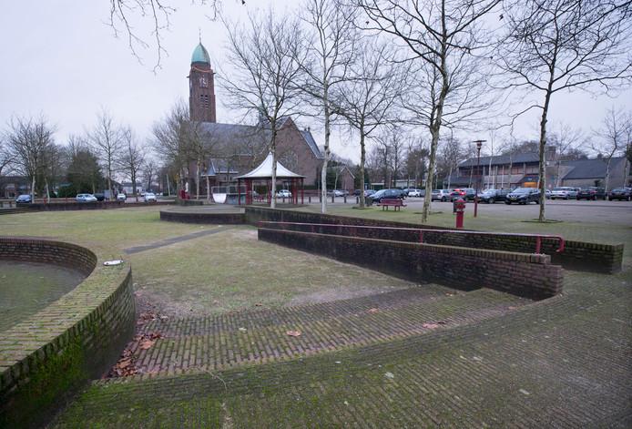 Het Willem Alexanderplein in Teteringen. Foto: Joyce van Belkom/Pix4Profs