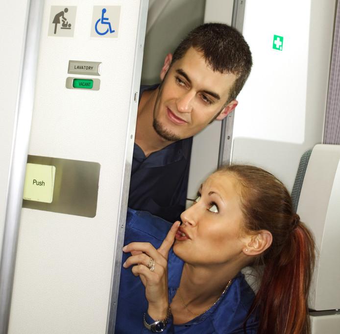 seks in het vliegtuig