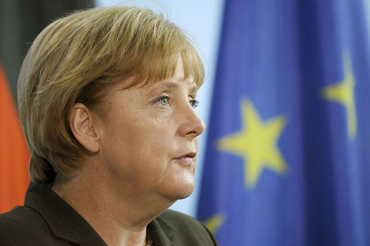 Angela Merkel (AFP) Beeld