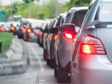 Grote drukte op snelwegen in regio