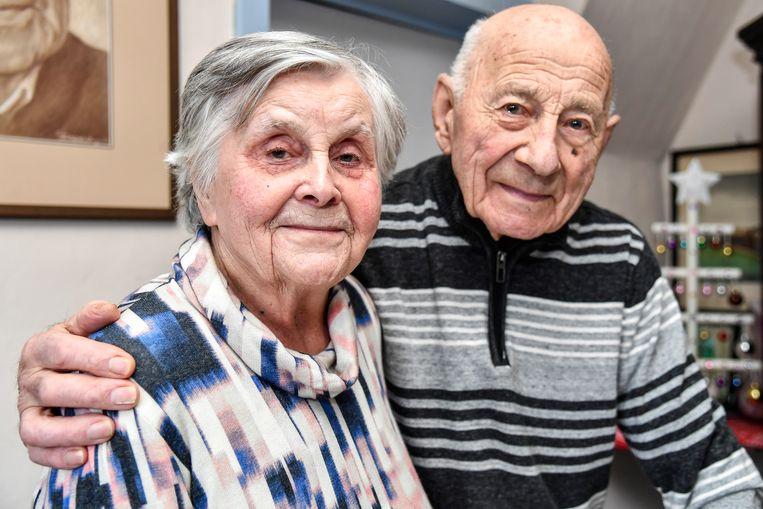 Pierre Blindeman en Maria Diependaele  delen al zeventig jaar lied en leed .