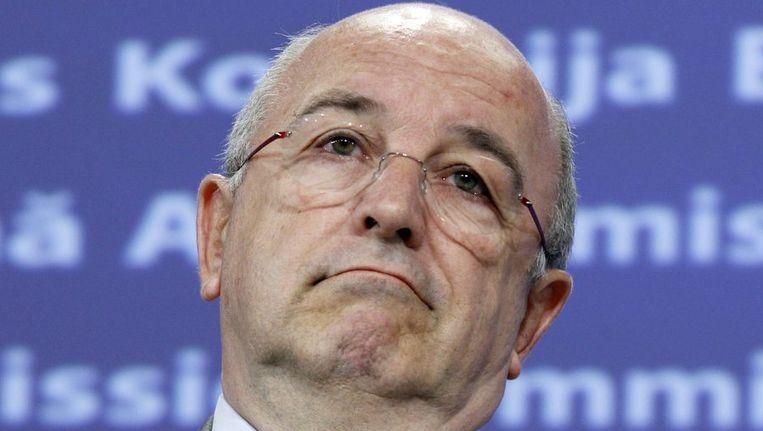 Eurocommissaris Joaquín Almunia (Concurrentie). Beeld reuters