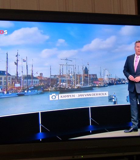 Kamper record met amateurfoto's op tv