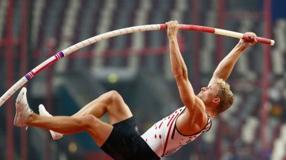 WK atletiek: Ben Broeders naar finale polsstokspringen, Philip Milanov uitgeteld in kwalificaties discuswerpen