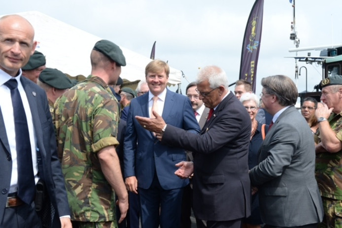 Koning Willem-Alexander brengt vrijdag een bliksembezoek aan doorkomstplaats Cuijk.