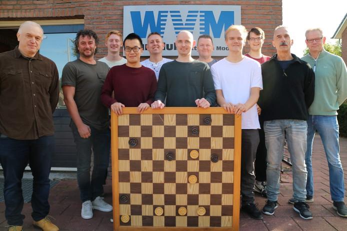 De dammers van Witte van Moort uit Westerhaar.