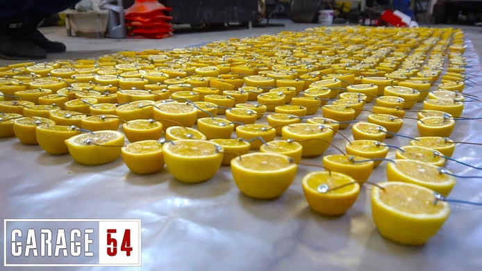 'Miljoenen' citroenen.