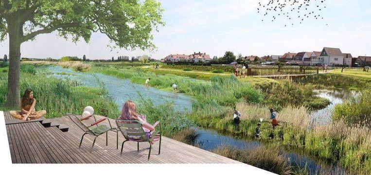 Op de Tolpaertpolder wil de gemeente een nieuw bouwproject realiseren.