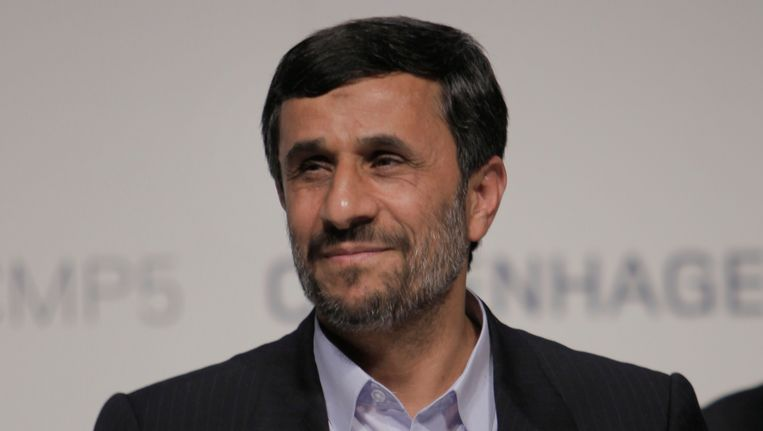 President Ahmedinejad. Beeld AP