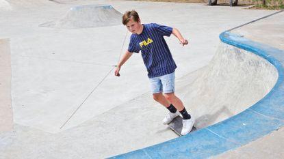 Skatepark van Vorselaar opnieuw open